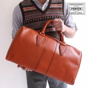 ■ポーター PORTER BARON 牛革 バロン ボストンバッグ 206-02606 吉田カバン 日本製 正規品|touzaiyamakaban