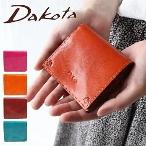 126378d74fb6 【Wプレゼント付】ダコタ 財布 ミニ財布 二つ折り財布 Dakota 小さい財布 バンビーナ ...