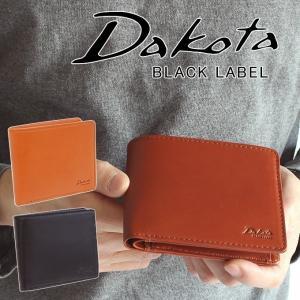 Dakota ダコタ 二つ折り財布 ブラックレーベル BLACK LABEL メーディオ イタリア製牛革 折財布 626700 メンズ 財布 正規品 ギフト touzaiyamakaban