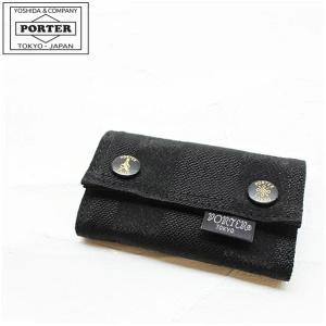 ポーター PORTER タンゴブラック キーケース 638-...