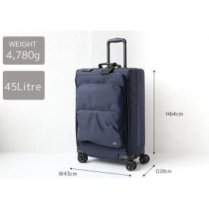 ポーター 吉田カバン タイム トロリーバッグ(L) PORTER TIME TROLLEY BAG(L) 655-17869 スーツケース ソフトキャリー プレゼント 女性 男性|touzaiyamakaban|20
