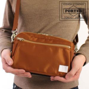 *PORTER LIFT*  シンプルな見た目ながらも、収納機能を充実させたショルダーバッグです。日...