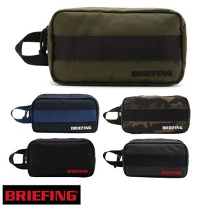 品番:BG1812401 品名:BRIEFINGMENS DOUBLE ZIP POUCH-3 GO...