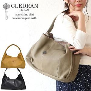CLEDRAN クレドラン ハーフショルダーバッグ GRIS グり トートバッグ CL-2994 日...