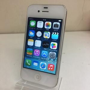 【中古Cランク】iPhone4 白 16GB softbank ソフトバンク ネットワーク利用制限◯ ip012753007082910|towayshop