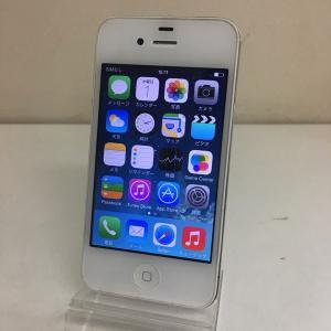 【中古Cランク】iPhone4 白 16GB softbank ソフトバンク ネットワーク利用制限◯ ip012755006609031|towayshop