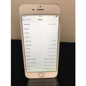 【中古Bランク】iPhone6 白 64GB docomo ドコモ ネットワーク利用制限◯ docomo系格安sim対応 ip352074060260139|towayshop