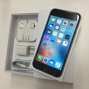 iPhone6 黒 64GB アメリカ版SIMフリー docomo/sb通話/LTE通信 OK docomo/au格安sim OK バッテリー1年保証 ip359304068899155|towayshop