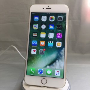 アメリカ版SIMフリー iPhone6Plus ゴールド 128GB  全キャリア通話/LTE通信 OK docomo系/au系格安sim OK バッテリー1年保証 ip359324060113314|towayshop