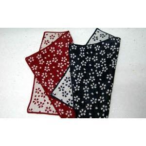【小桜】 ガーゼ(ハンカチサイズ)|towel-agatsuma