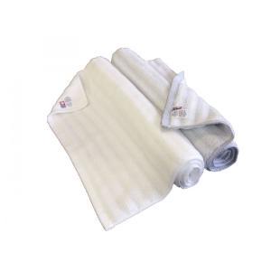 2019年夏新作 今治 バスマット ふわもこウェーブ 2枚セット(ホワイト1枚・グレー1枚) 今治ブランド 送料無料 towel-en