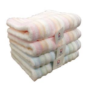 今治タオル ふわふわ無撚糸 新触感 フェイスタオル ふわもこウェーブ 送料無料 towel-en