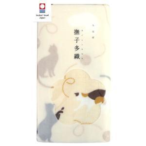今治タオル 宮本『撫子多織』 猫 フェイスタオル 送料無料 towel-en
