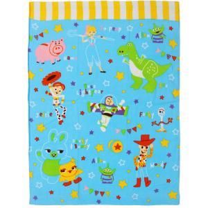 お昼寝 タオルケット ディズニー フレンドトイストーリー4 マルチタオル 約85×115cm