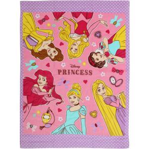 お昼寝 タオルケット ディズニー トレジャー プリンセス マルチタオル 約85×115cm