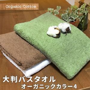 大判バスタオル  エバモアオーガニックカラー4 約70×140cm オーガニックコットン towelmall