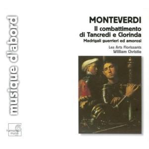 レザール・フロリサン MONTEVERDI :MADRIGALI GUERRIERI & AMOROSI  -IL COMBATTIMENTO DI TANCREDI E CLORINDA:W.CHRI CD