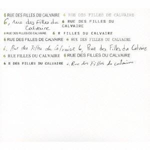 阿部海太郎 6,Rue des Filles du Calvaire,Paris CD