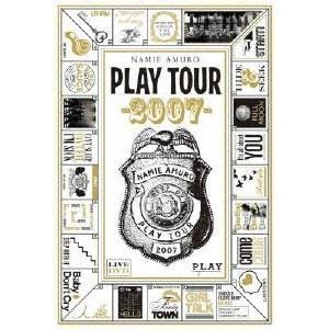 安室奈美恵 namie amuro PLAY tour 2007 DVD