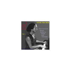 アニー・フィッシャー Annie Fischer Vol.1 -Piano Concertos by...