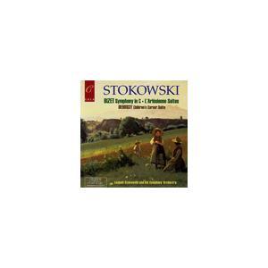 Leopold Stokowski Orchestra Bizet: Symphony in C major (5/6& 21/1952), L'Arlesienne Suite No.1 (2/29/1952), No CD