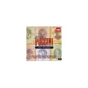 Various Artists The Operas -Puccini : Manon Lescaut, La Boheme, Tosca, Madame Butterfly, Turandot, etc <限定盤 CD