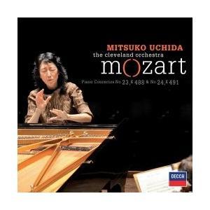 内田光子 モーツァルト: ピアノ協奏曲第23番, 第24番 / 内田光子, クリーヴランド管弦楽団 SHM-CD