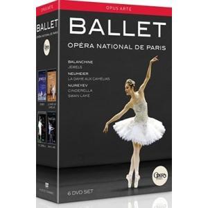 パリ・オペラ座バレエ 「パリ・オペラ座バレエBOX」〜バレエ《ジュエルズ》、《椿姫》、《白鳥の湖》、《シンデレラ》 DVD