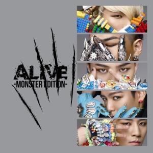 BIGBANG ALIVE -MONSTER EDITION-<通常盤> CDの画像