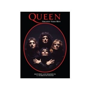 Queen Greatest Video Hits DVD