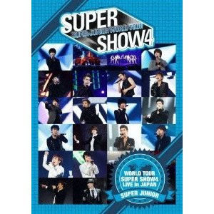 SUPER JUNIOR SUPER JUNIOR WORLD TOUR SUPER SHOW4 LIVE in JAPAN<通常盤> DVD