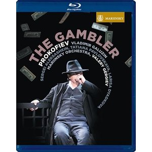 ワレリー・ゲルギエフ Prokofiev: The Gambler Op.24 (Based on Dostoyevsky's Novel) Blu-ray Disc