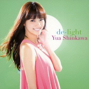 新川優愛 de-light [CD+DVD] 12cmCD Single
