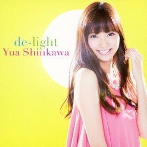 新川優愛 de-light 12cmCD Single