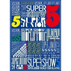 SUPER JUNIOR SUPER JUNIOR SUPER SHOW5 WORLD TOUR In Japan [3DVD+フォトブック]<初回生産限定盤> DVD