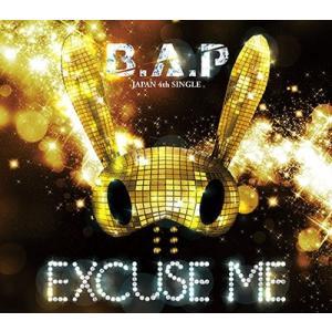 B.A.P EXCUSE ME [CD+DVD]<通常盤 Type-A/初回限定仕様> 12cmCD...