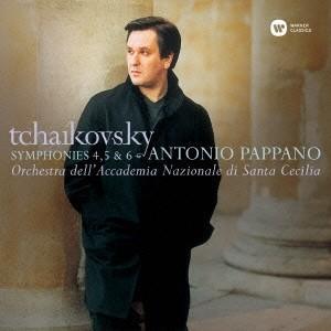 アントニオ・パッパーノ チャイコフスキー:交響曲第4番、第5番&第6番「悲愴」 CD