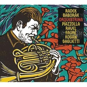 ラデク・バボラーク Orquestrina - Piazzolla, Ravel, Faure, Lev Kogan, Saglietti CD