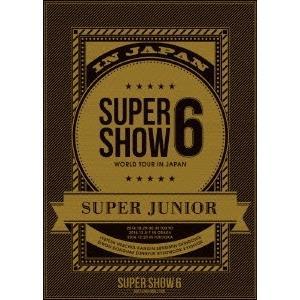 SUPER JUNIOR SUPER JUNIOR WORLD TOUR SUPER SHOW6 IN JAPAN<初回生産盤> DVD