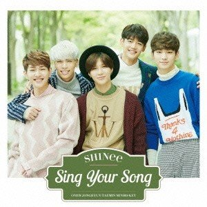 SHINee Sing Your Song<通常盤> 12cmCD Single