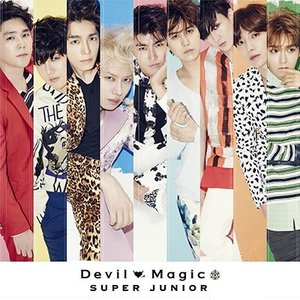 SUPER JUNIOR Devil/Magic [CD+DVD] 12cmCD Single