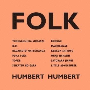 ハンバートハンバート FOLK<通常盤> CD