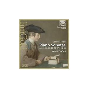 アラン・プラネス Haydn: Piano Sonatas No.13, No.33, No.35, No.39, No.43, No.47, No.50& No.53 CD