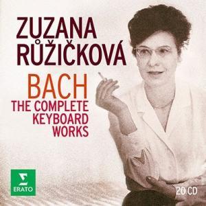 ズザナ・ルージイチコヴァー J.S.バッハ: 鍵盤楽器のための作品録音全集<限定盤> CD