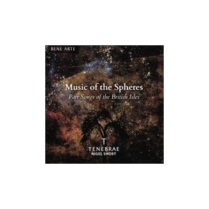 ナイジェル・ショート Music of the Spheres - Part Songs of the British Isles CD