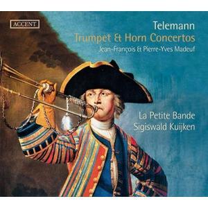 シギスヴァルト・クイケン G.P.Telemann: Trumpet & Horn Concertos CD