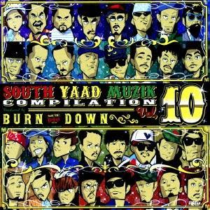 TAKAFIN& NATURAL WEAPON SOUTH YAAD MUZIK COMPILATION VOL.10 CD