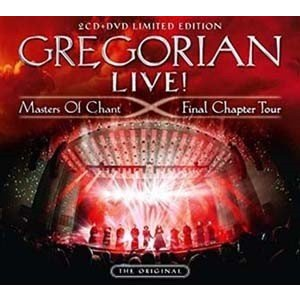 Gregorian Live! Masters of Chant: Final Chapter Tour [2CD+DVD]<限定盤> CD