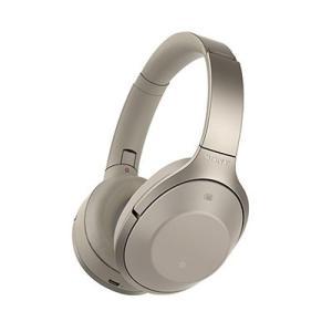 SONY ワイヤレス ノイズキャンセリングヘッドホン MDR-1000X(ハイレゾ切替)/グレーベー...