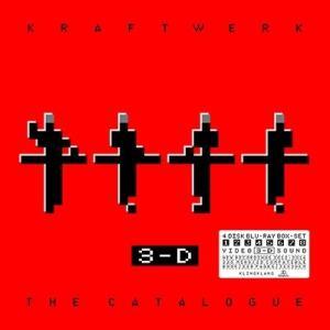 Kraftwerk 3-D The Catalogue [4Blu-ray Disc+BOOK] Blu-ray Disc
